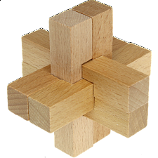 Enigma - Wood Puzzle -
