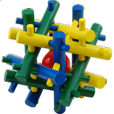 Galaxy - wood puzzle -