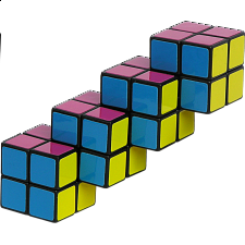 Quadruple 2x2 Cube -