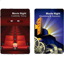 Playing Cards - Movie Night Trivia -