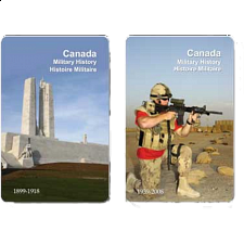 Playing Cards - Canada Military History Facts -