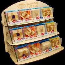 Funzzle Display - 24 Pieces (4 x 6) prepack -