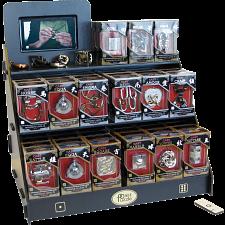 Hanayama Wood Display Stand with Video Display -