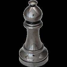 """Black"" Color Chess Piece - Bishop -"