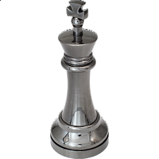 """""""Black"""" Color Chess Piece - King -"""