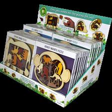 Constantin Puzzles Animal Arrangements Display (32 pcs) -